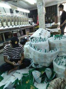 vendor topi di bandung